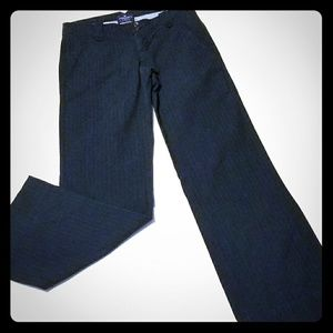 💗AMERICAN EAGLE💗 NAVY BLUE PINSTRIPED BOOT CUT
